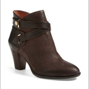 Louise Et Cie Rainer brown leather ankle boots